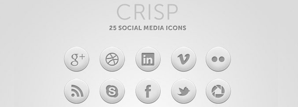 Web designer in York - Free social media icons